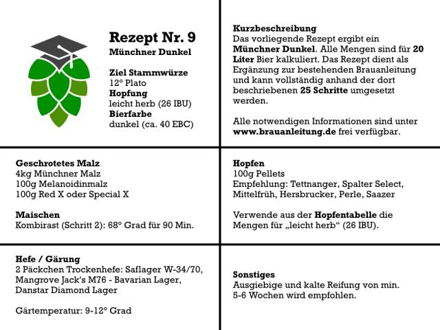 Münchner Dunkel selber brauen